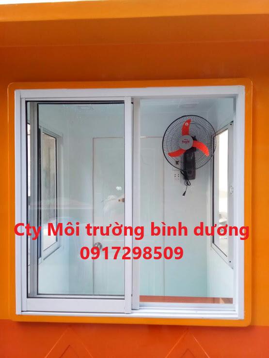 cabin bảo vệ công trình